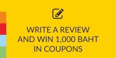 Write A Review And WinTHB 1,000